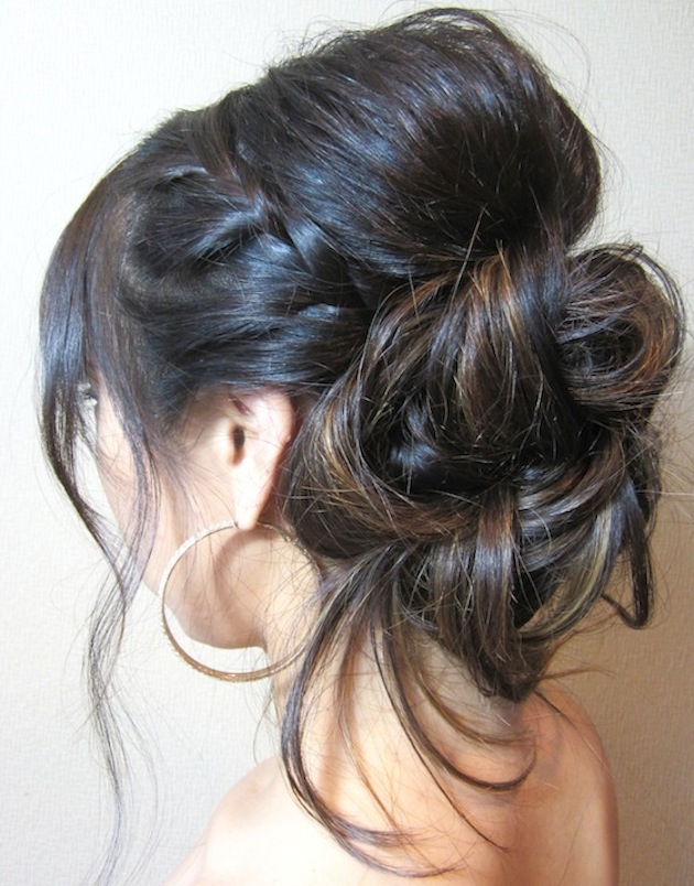 Pleasing Bridal Beauty How To Style A Braided Updo Tutorial By Celebrity Short Hairstyles For Black Women Fulllsitofus